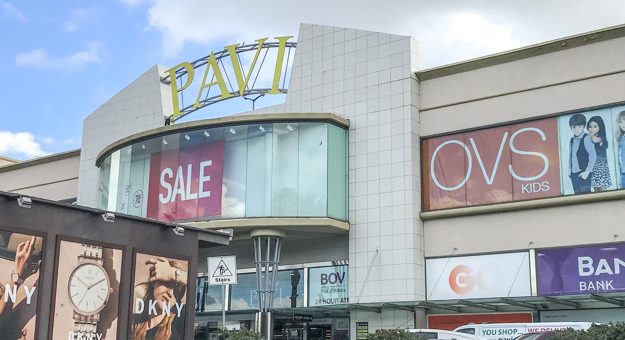 Pavi Shopping Malta PG group